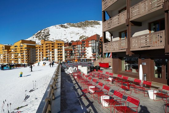 Hotel Le Val Thorens : Terrace