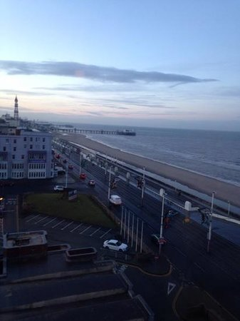 Hilton Blackpool Hotel: sea view v nice