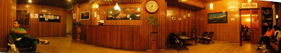 Chiminda International: Hotel Reception