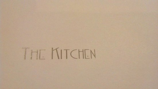 The Kitchen -Hyatt Regency Dubai: o menu