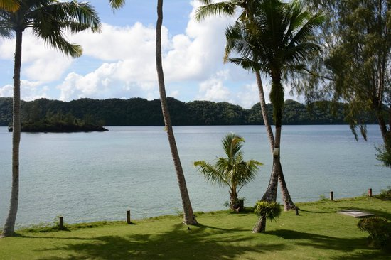 Palau Pacific Resort: the view from room 1422