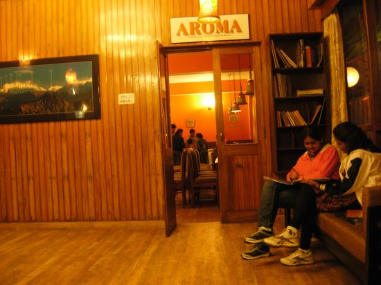 Chiminda International: Aroma Pure VEG Restaurant