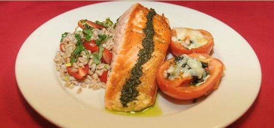 Capo Floral Park: Salmon Dinner