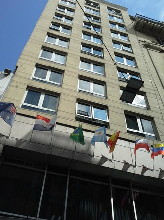 Hotel Howard Jonhson: Fachada