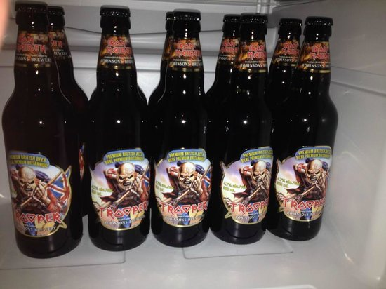 Tavern On Whyte: Iron Main Maiden Trooper Ale is always on stock.