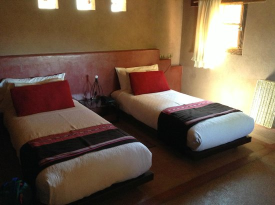 Altiplanico Atacama: Doppelzimmer mit Twinbeds