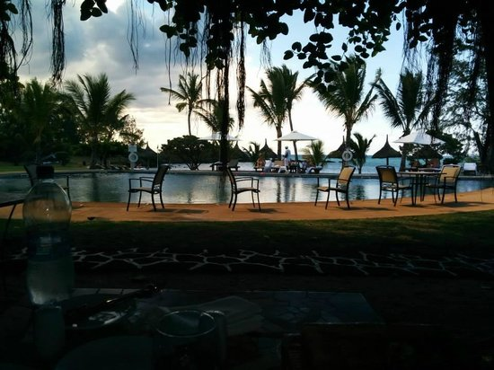 LUX* Grand Gaube: View from the Banyan restaurant