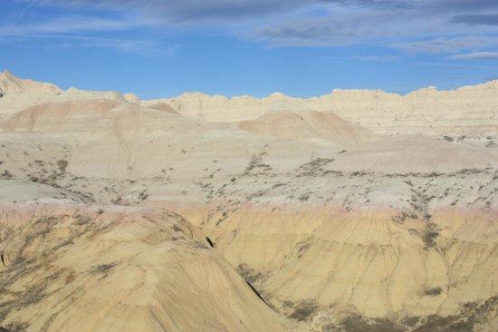 Badlands Wall: Rainbow view