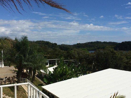 Hotel Bocas del Mar: Aussicht nach links Ri. Restaurant