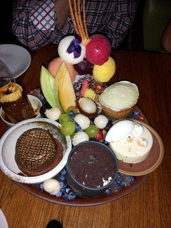 Zuma : Dessert platter