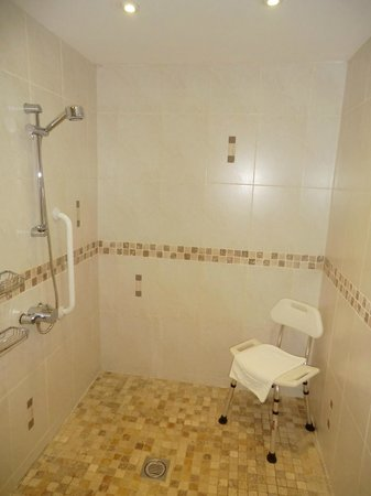 The Lodge @ Birkby Hall: Wet room