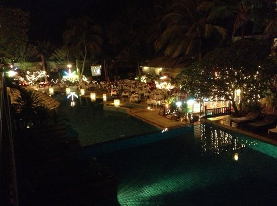 Krabi La Playa Resort : Christmas Eve evening banquet