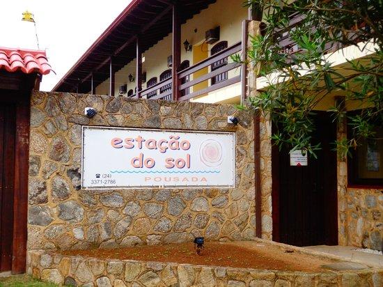 Pousada Estacao do Sol: Front of hotel