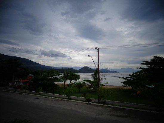 Pousada Estacao do Sol: view from the breakfast balcony