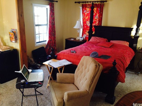 The Mary Geasland Guest House: Very comfy bed - memory foam mattress