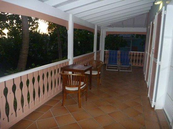 Hotel La Plantation: large balcony