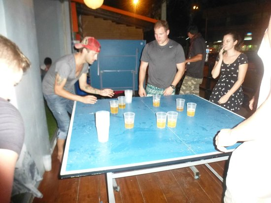 Slumber Party Hostel and Bar: Deadly game of chase the cup