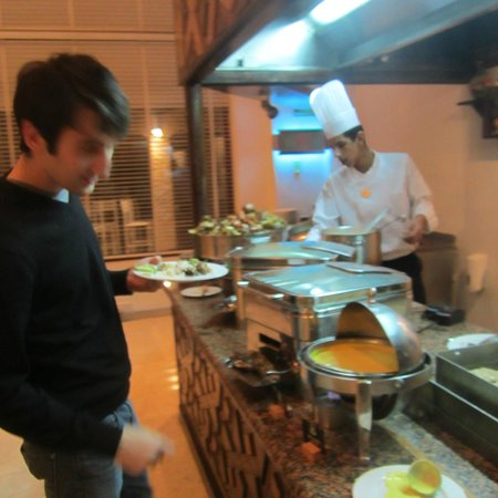 Movenpick Resort Petra: Knowledgable staff about ingredients in food