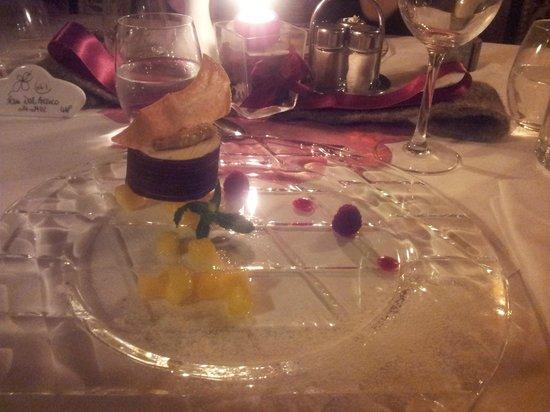 Hotel Villa Monica: Uno dei favolosi dessert serviti alla sera.....