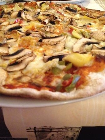 L'Italia: vegetarian pizza - the best option