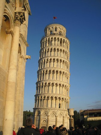 Share a Shore Excursion in Italy: First Stop--to see if it's still leaning!