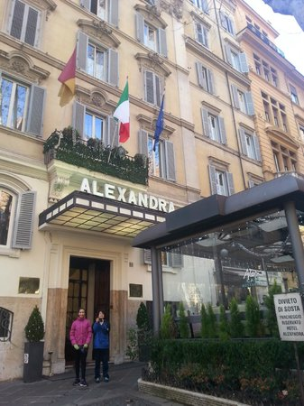 Quaint hotel alexandra roma resmi tripadvisor for Quaint hotel