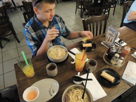 noodle village : Great lunch