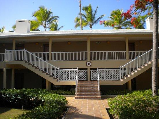 Sirenis Punta Cana Resort Casino & Aquagames: Bloque de habitaciones