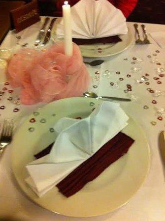 Hotel Continental: Romantik Dinner
