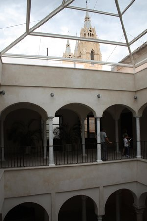 Museo Carmen Thyssen Málaga: The interior of museum
