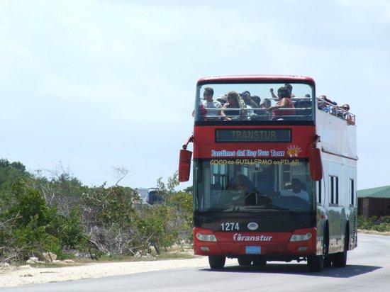Gran Caribe Club Villa Cojimar: The bus to Pilar/Cayo Coco