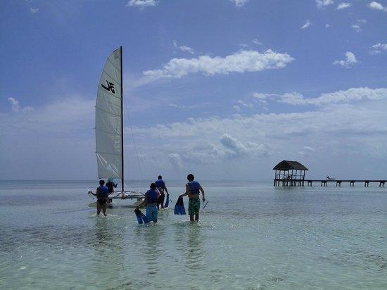 Gran Caribe Club Villa Cojimar: Hotel Hobbycat trip - before it all went wrong