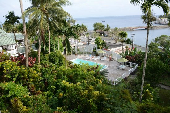 Yap Pacific Dive Resort: view from the room 2