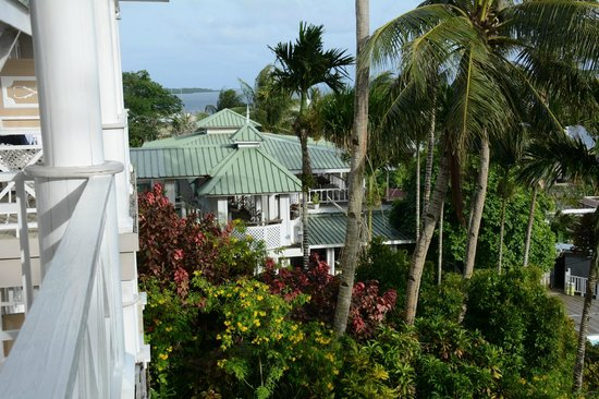 Yap Pacific Dive Resort: another view from our room