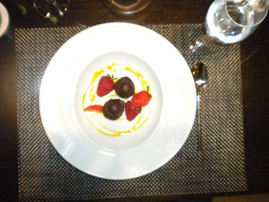 abba Granada Hotel: Postre de la cena
