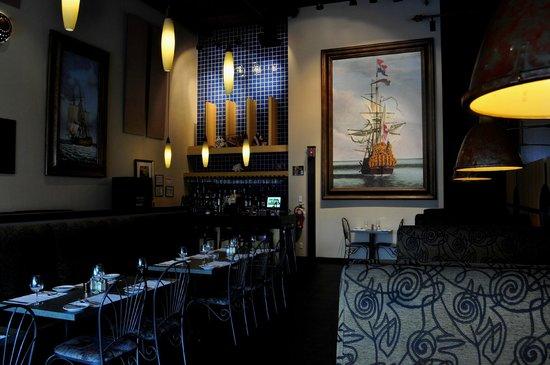 Restaurant O'Sharkcoal : salle à manger