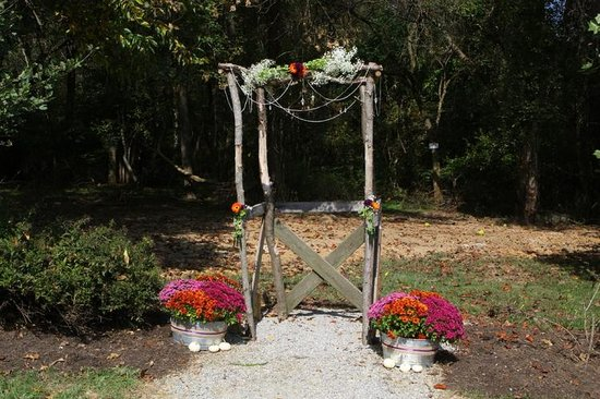 Elk Forge B&B Inn, Retreat and Day Spa: Ceremony Site