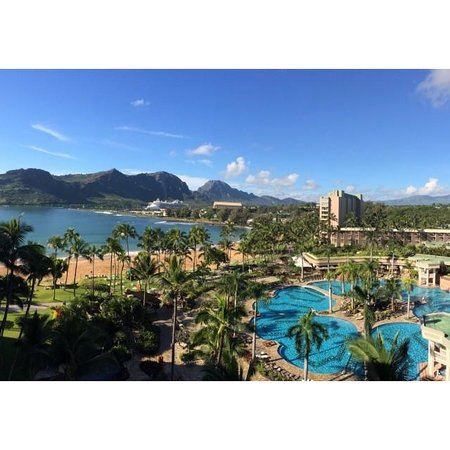 Kaua'i Marriott Resort: Wake up to this view from bed!