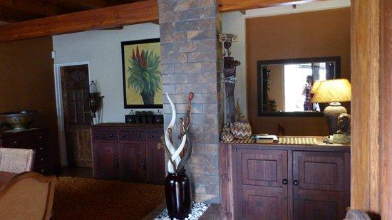 Ama Zulu Guesthouse: gemeinsames Wohnzimmer für Gäste