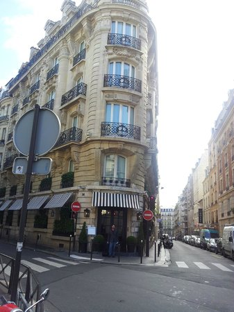"Le Dokhan's, a Tribute Portfolio Hotel: View From Cafe Across The ""Rue"""