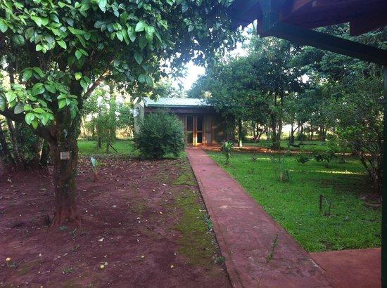 Casa Yaguarete: Außenansicht unseres Bungalows
