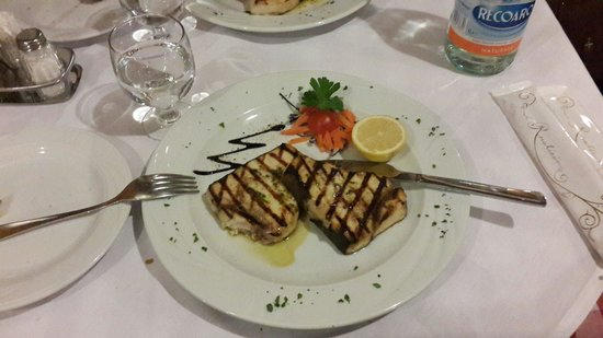 Vecchia Fattoria: Grilled swordfish
