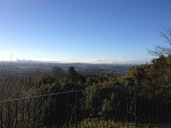 Edinburgh Zoo: View from Hilltop point