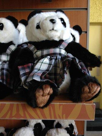 Edinburgh Zoo: Toys in shop