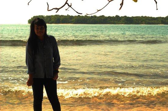 Sikuai Island: di tepi pantai