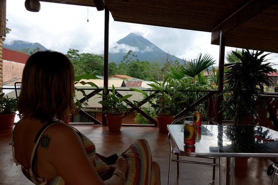 La Fortuna Suites: View from the balcony