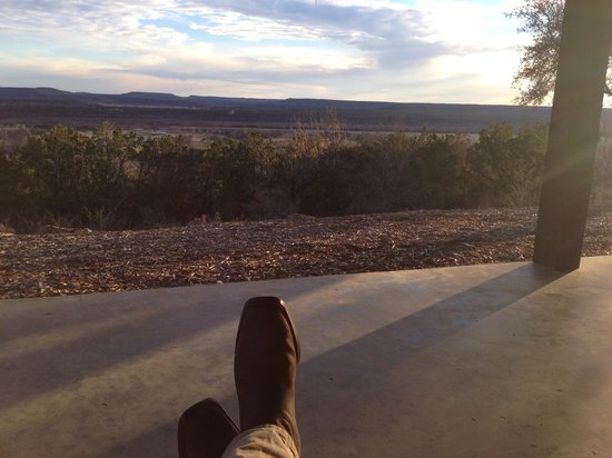 Wildcatter Ranch : The view from our porch