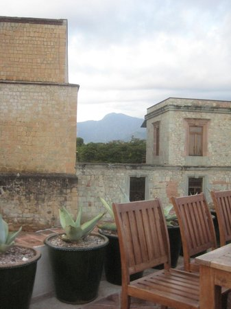 Casa Oaxaca  Restaurant: View from the rooftop, lovely