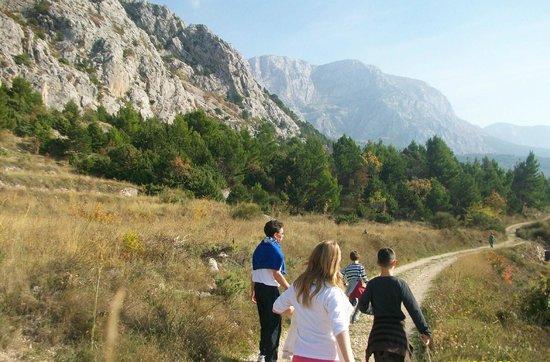 Villa Anka: Hiking on mountain Biokovo slopes