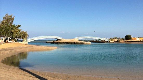 Sheraton Miramar Resort El Gouna: Brücken über die Lagune